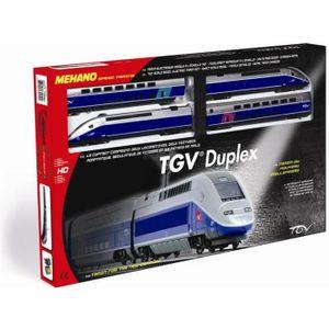 CIRCUIT MEHANO Coffret circuit de Train électrique TGV Dup