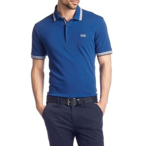 POLO Polo Boss Green Paddy bleu homme 50198254