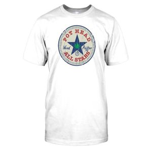 T-SHIRT Hommes t-shirt DTG Print - Pot Head All Stars - We