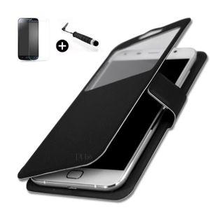 ACCESSOIRES SMARTPHONE Panasonic Eluga Switch  super pack Etui fenêtres H