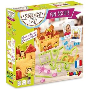 CUISINE CRÉATIVE - JEU CULINAIRE SMOBY CHEF Fun Biscuits + Recettes