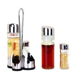SALIERE - POIVRIERE 5 x Distributeur de sel poivre Sauce vinaigre Jeu