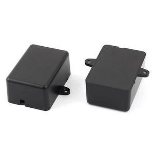 2pcs boîtier de circuit électronique boîtier de jonction en plastique