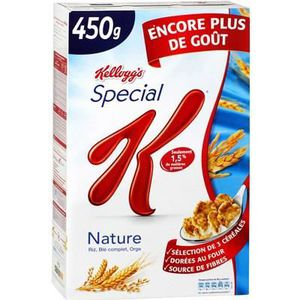 MUESLI FLOCON KELLOGG'S Céréales nature - 440 g