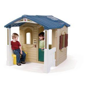 MAISONNETTE EXTÉRIEURE Maison plastique enfant Front Porch