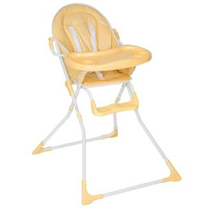 CHAISE HAUTE  TECTAKE Chaise Haute pour Bébé Enfant Confort Plia