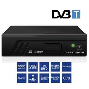 RÉCEPTEUR - DÉCODEUR   TEKCOMM TCT2100 Décodeur TNT HD terrestre