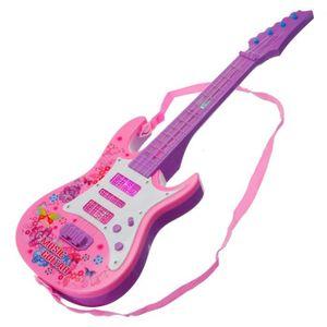 GUITARE TEMPSA 4 Cordes Guitare Electrique lumière Enfant