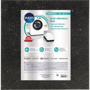 PIÈCE LAVAGE-SÉCHAGE  WPRO ANT100 - Tapis anti-vibration pour lave-linge