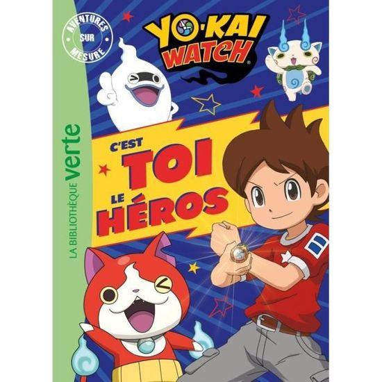 Livre Yo Kai Watch Aventures Sur Mesure Xxl