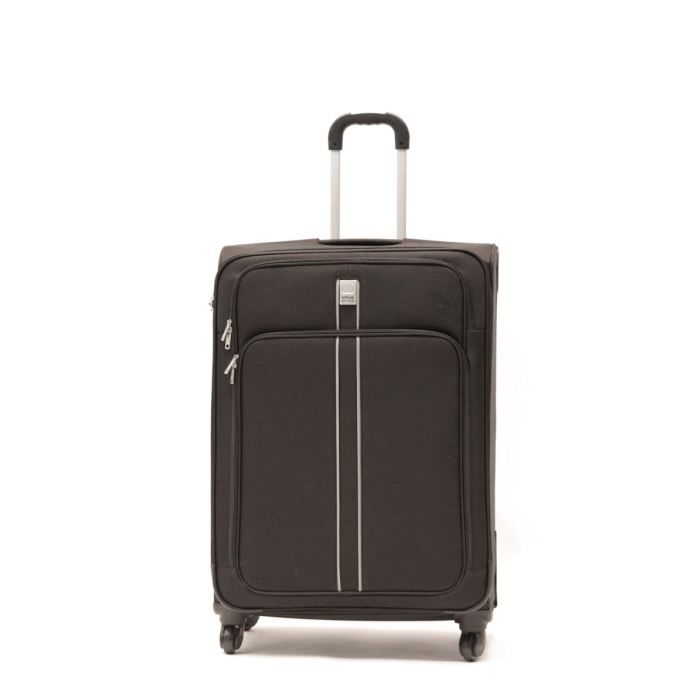 visa delsey valise trolley 4 roues 76 cm linea noir achat vente valise bagage visa delsey. Black Bedroom Furniture Sets. Home Design Ideas