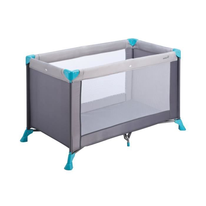 safety 1st lit parapluie soft dreams gris et bleu achat vente lit pliant 3220660231614. Black Bedroom Furniture Sets. Home Design Ideas