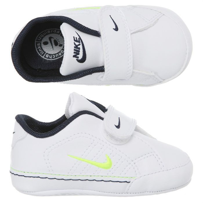 45d0180ae19d1 NIKE Chausson First Court Tradition Bébé Blanc