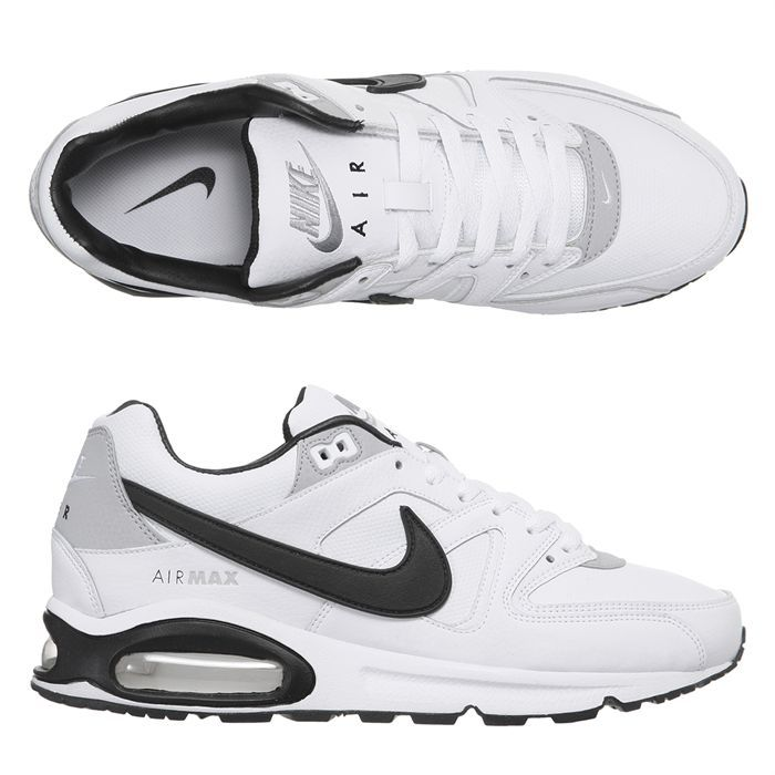 check out 9ba0e bd673 BASKET NIKE Baskets Air Max Command Leather Homme