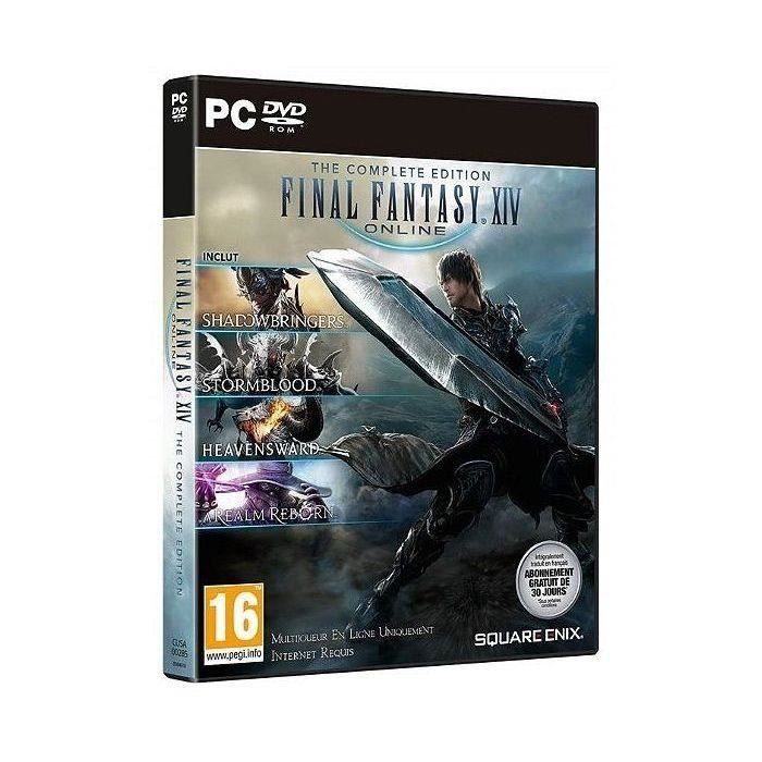 FINAL FANTASY XIV : Complete Edition Jeu PC