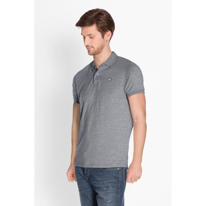 CAMPS Polo Manches Courtes - Homme - Gris