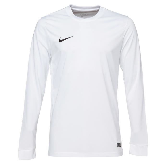 NIKE Maillot Manches longues Park VI - Blanc
