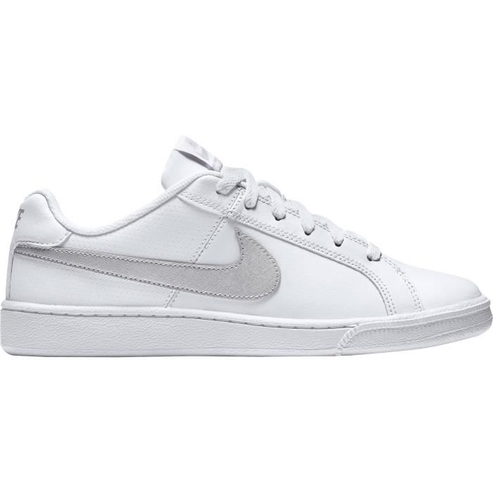 cheaper 5e535 adf96 BASKET NIKE Baskets Court Royale - Femme - Blanc