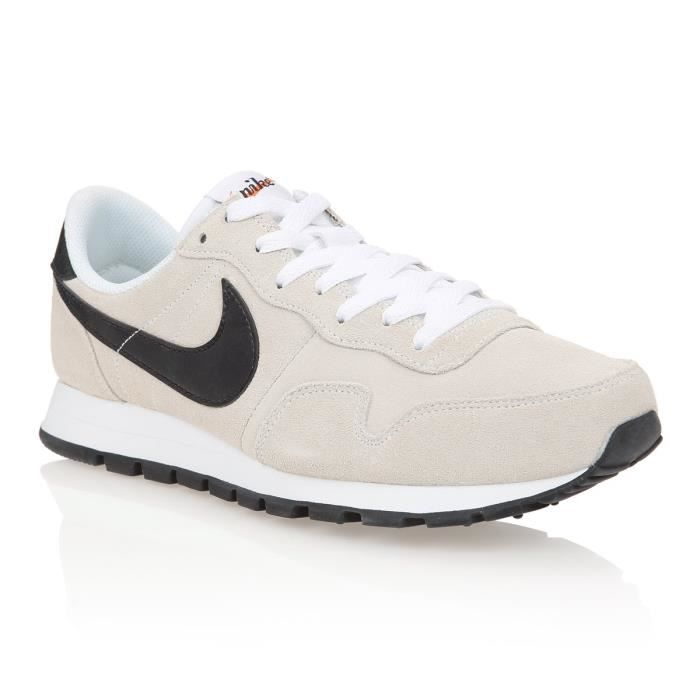 NIKE Baskets Air Pegasus 83 Leather - Homme - Blanc