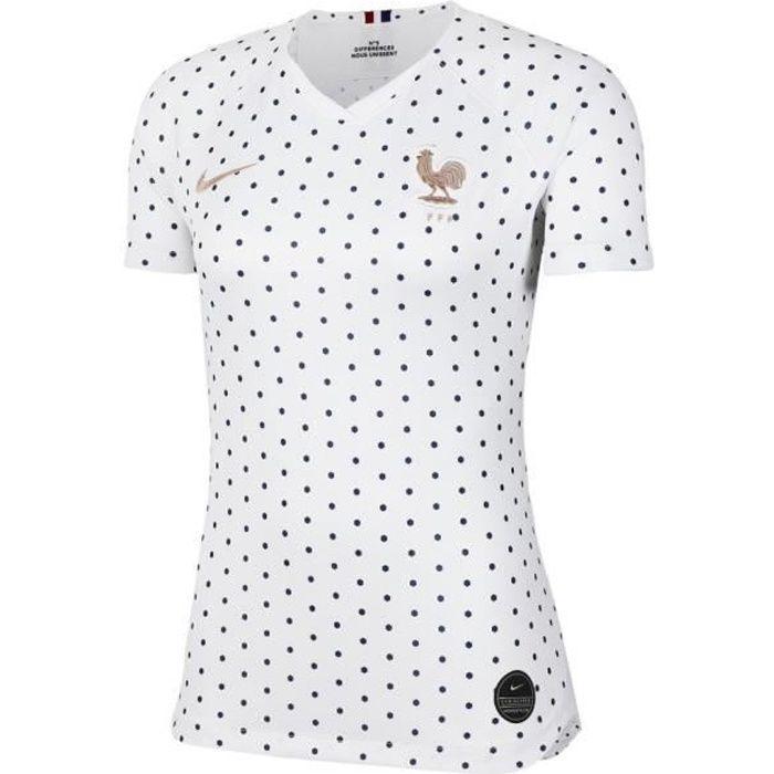 NIKE Maillot de Football - Femme - Blanc
