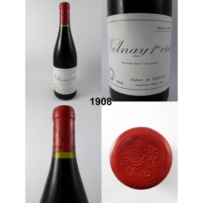 Volnay - Hubert de Montille 1993 - N° : 1908, Volnay, Rouge