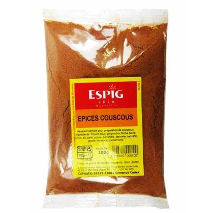 Epices Couscous Moulu 100g - 07370438