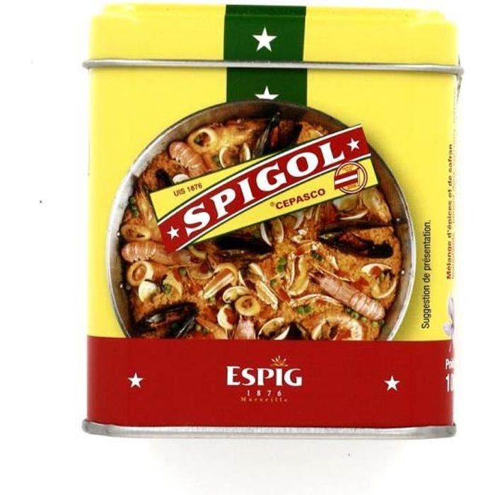 Mélange épices Spigol en boite