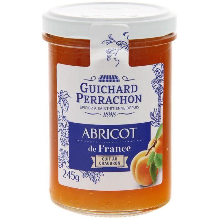 GUICHARD PERRACHON Confiture d'Abricots de France - 245 g