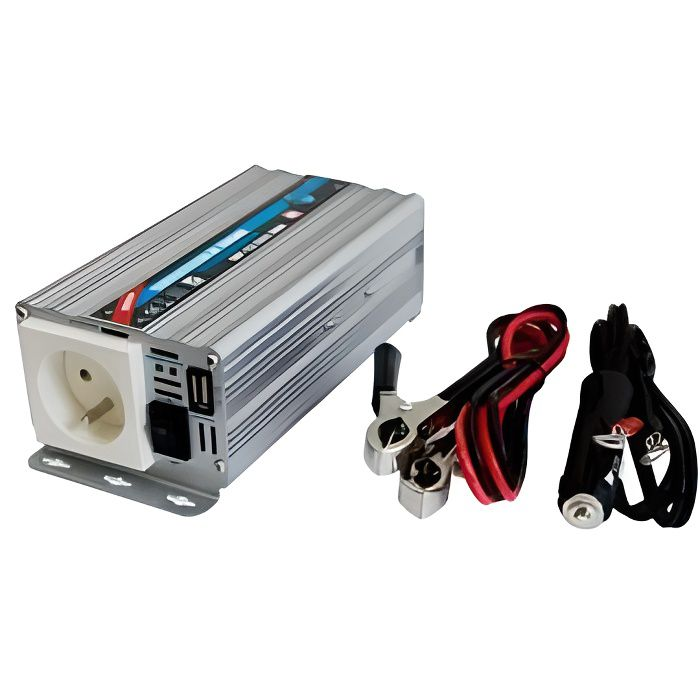 Convertisseur WP 12/220V 300W avec Prise USB