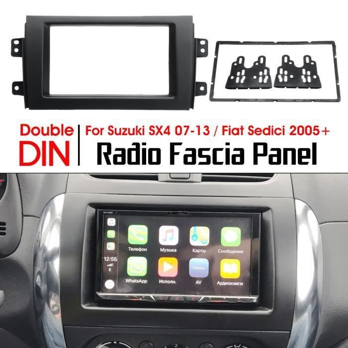 NEUFU Adaptateur Cadre Façade Autoradio 2 DIN Pour Suzuki SX4 2007-13 Fiat Sedici 2005+*SQ