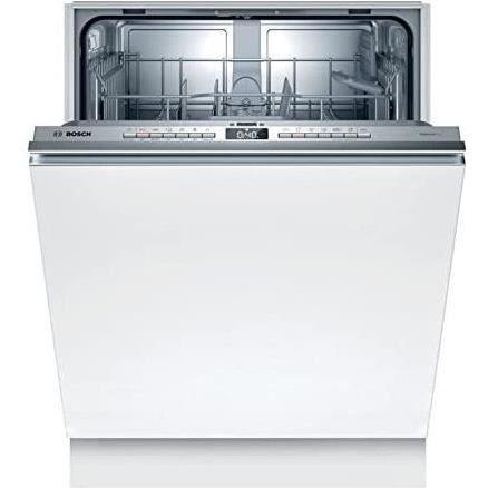 Lave-vaisselle tout intégrable BOSCH SMV4HTX37E Série 4 - 12 couverts - Induction - L60cm - 44 dB