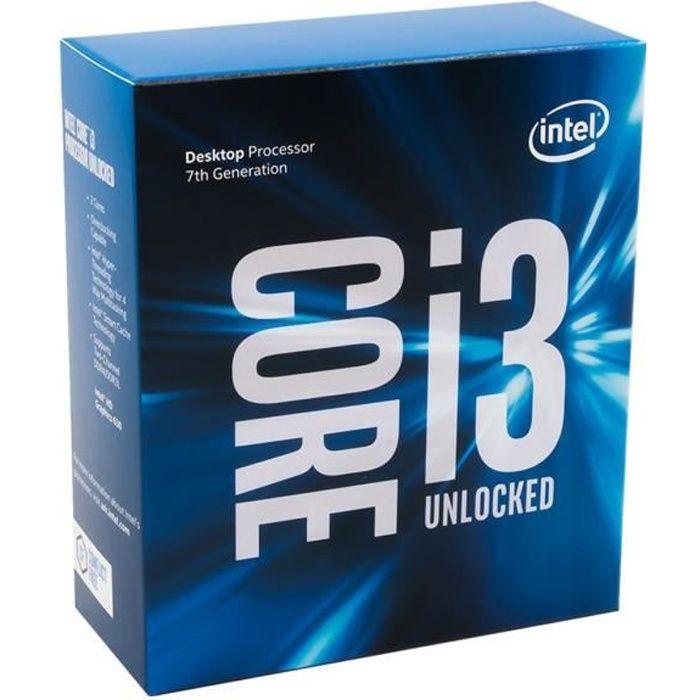 Intel Processeur Kaby Lake Core i3 7100 3,90Ghz