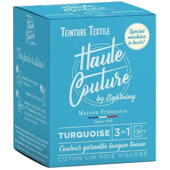 Teinture textile haute couture turquoise 350g