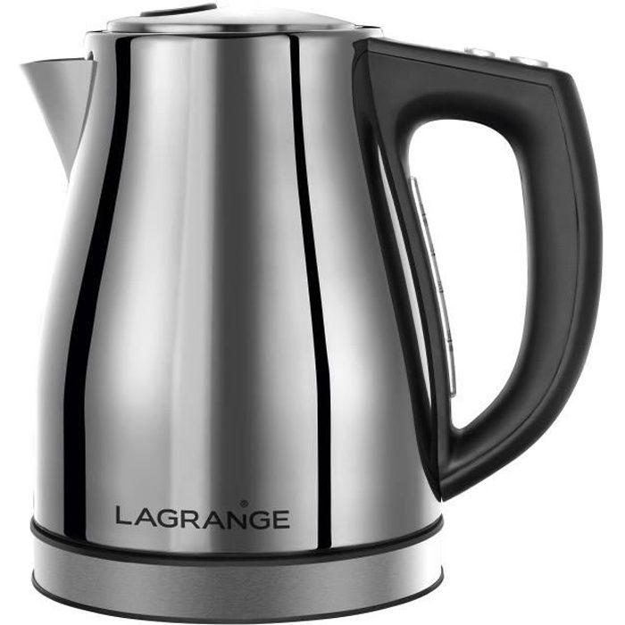 LAGRANGE Bouilloire Inox - 509010 - Electronique 1L2
