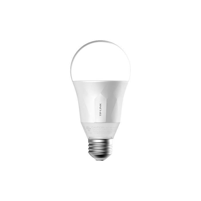 TP-LINK Ampoule LED LB100 connectée Wi-Fi E27 50 W avec variation de l'intensité lumière blanche