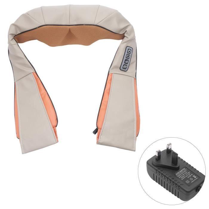 Appareil de massage shiatsu pour épaule, nuque, cou, dos et jambes- Soulage les douleurs musculaires du corps