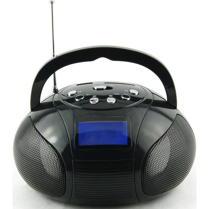 R-MUSIC MOSQUITO 42100 Speaker Bluetooth Noir