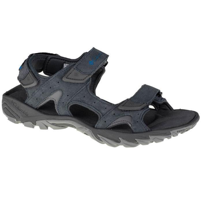 Columbia Santiam 3 Strap 1777181054, Homme, Grise, sandales de sport