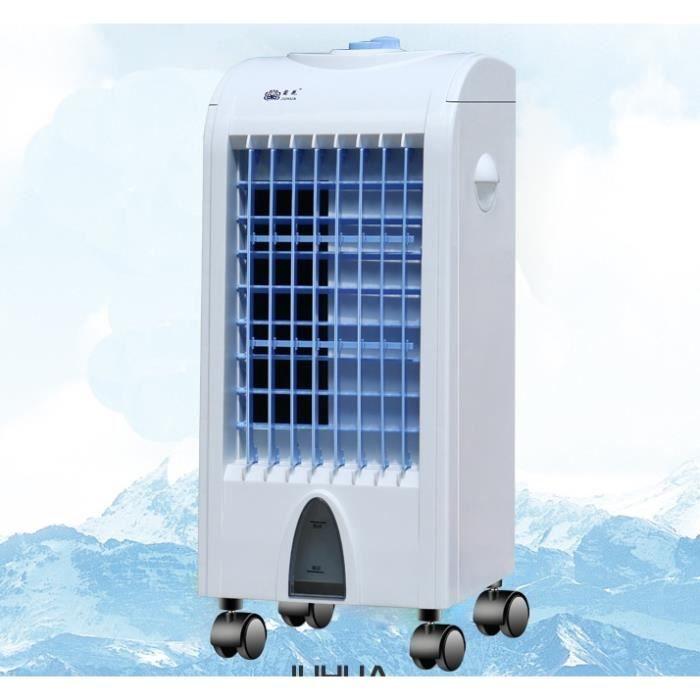 Mini Climatiseur Portable Ventilateur pour Maison Bureau Rafraîchisseur d'air Mobile Économie D'énergie