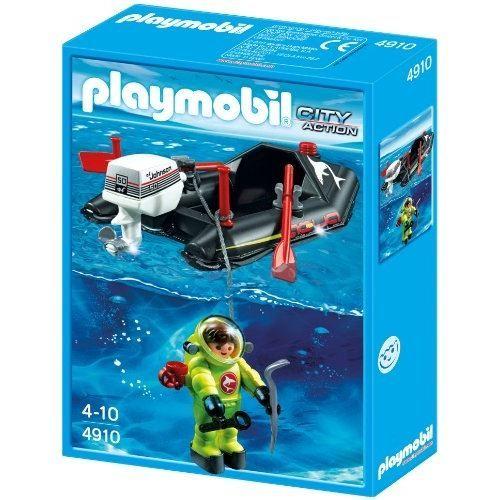 PLAYMOBIL - 4910 - JEU DE CONSTRUCTION - BATEAU…