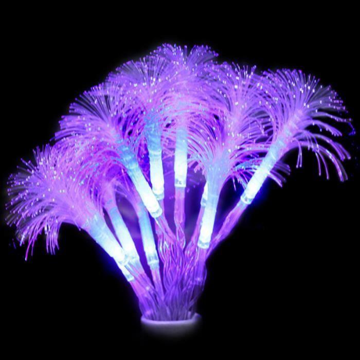 1 pc LED guirlande lumineuse romantique fibre optique coloré pétunia fée lampes fournitures de GUIRLANDE LUMINEUSE INTERIEURE