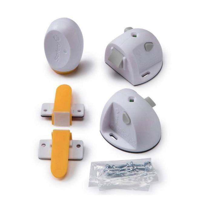 SAFETY 1ST Bloque placard magnétique adhésif