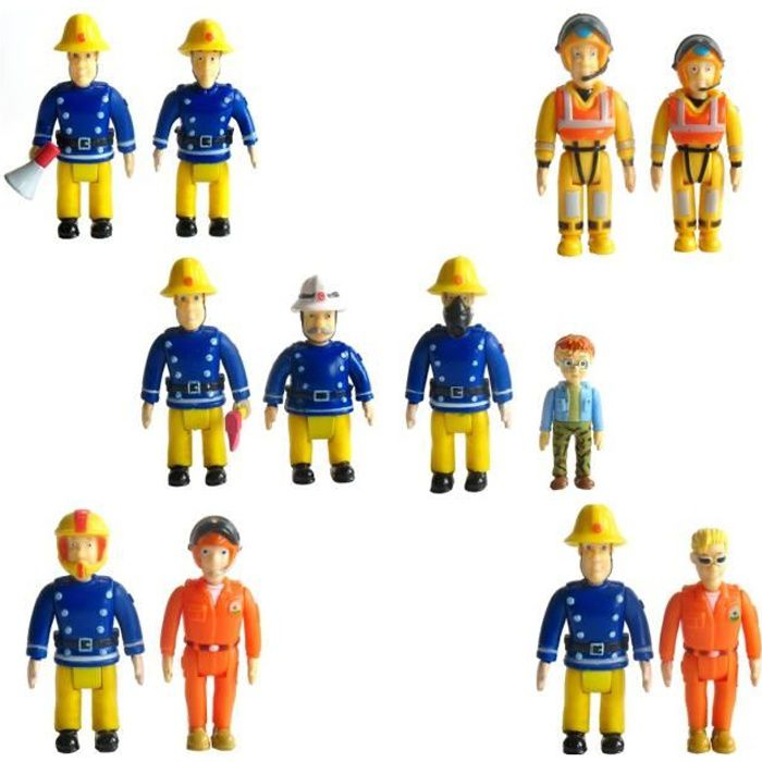 SAM LE POMPIER Pack 2 Figurines