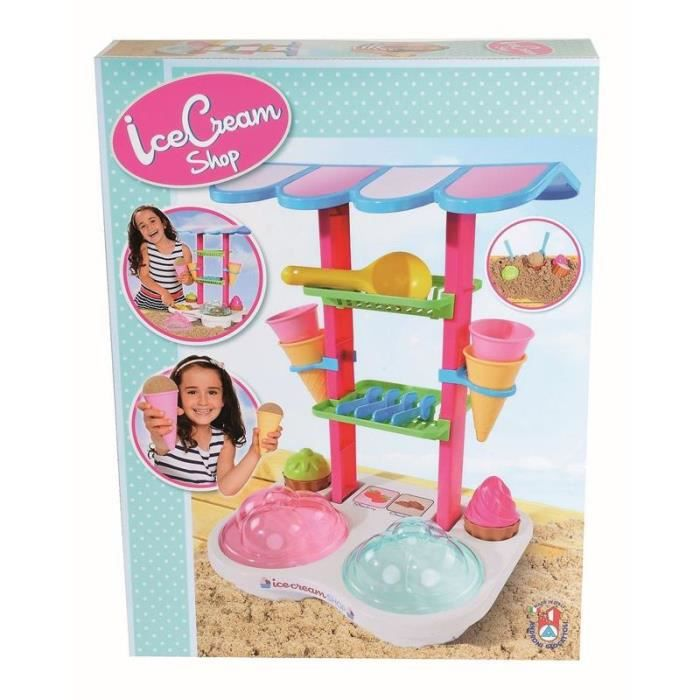 Simba Toys 107102532 Jouets de sable -Le stand de crème glacée