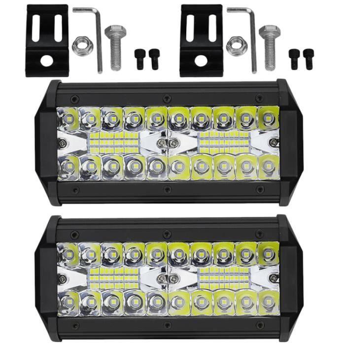2pcs LED Canbus lampe Portable durable ampoules de lecture de voiture pour camion GYROPHARE