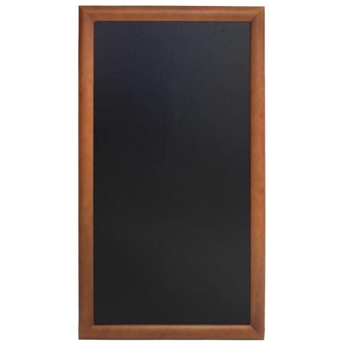 Ardoise longue à fixer, 100 x 56 cm Wenge