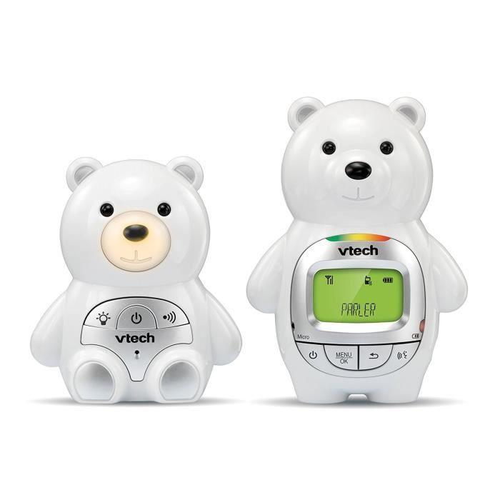 VTECH - Safe & Sound - Babyphone Ourson Family - BM2300B