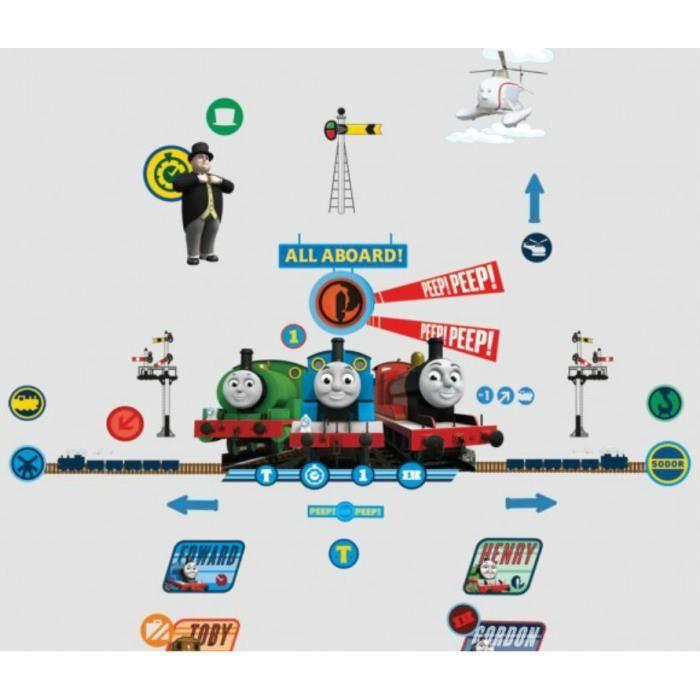 Stickers muraux Thomas et ses amis - Sonnette