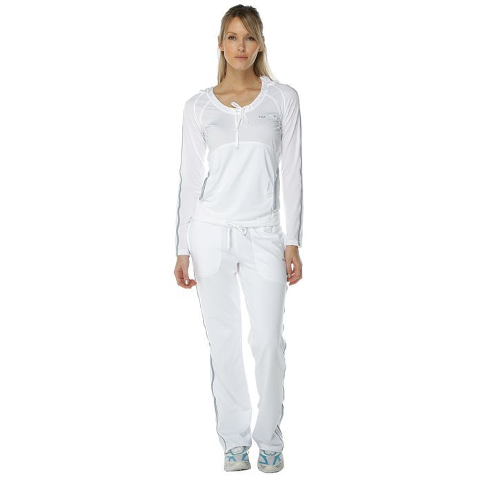 1a210cd822332 pantalon survetement femme blanc