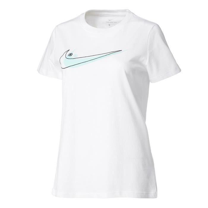 tee shirt nike femmes court